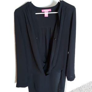 Cathrine Malandrrino long sleeve blouse